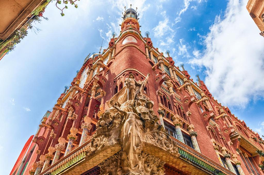 The Palau Musica Catalana Hotel Serhs Rivoli Rambla
